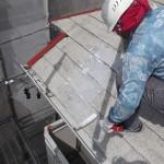 03_屋根シーラ塗装中