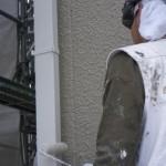 14_樋部分の塗装です。
